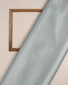 Light Steel Blue Plain Heavy Satin Fabric