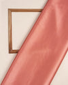 Flamingo Pink Plain Heavy Satin Fabric