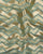 Green & Gold Chevron Zari Work Banarasi Taffeta Silk Fabric - Fabriclore.com