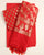 Red & Gold Floral Banarasi Woven Taffeta Silk Unstitched Suit With Taffeta Silk Dupatta - Fabriclore.com