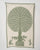 Handmade Applique Tree Of Life Loom Textured Cotton Wall Hanging ( 32X52 Inches ) - Fabriclore.com