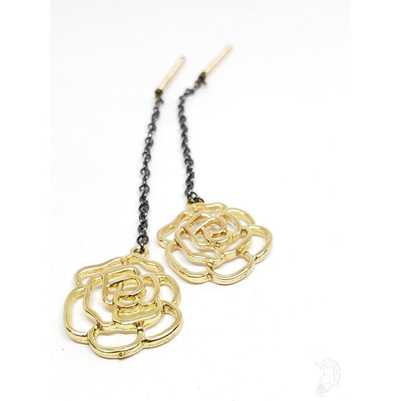 Golden Rose Dangle Chains for Magnetic Tunnels, Without Tunnels