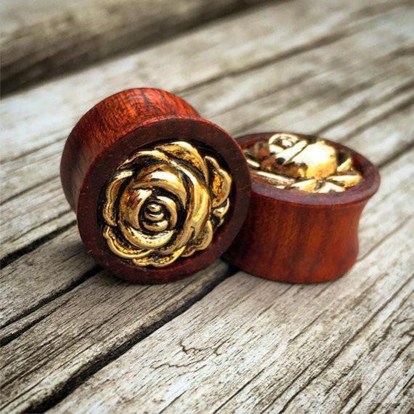 "Custom Wood Plugs and Tunnels by Ever-Changing Jewelry / Unique Ear Gauges / 2g, 0g, 00g, 7/16, 1/2, 9/16, 5/8, 11/16, 3/4, 7/8, 1"", Dangle Plugs, Organic Gauges"