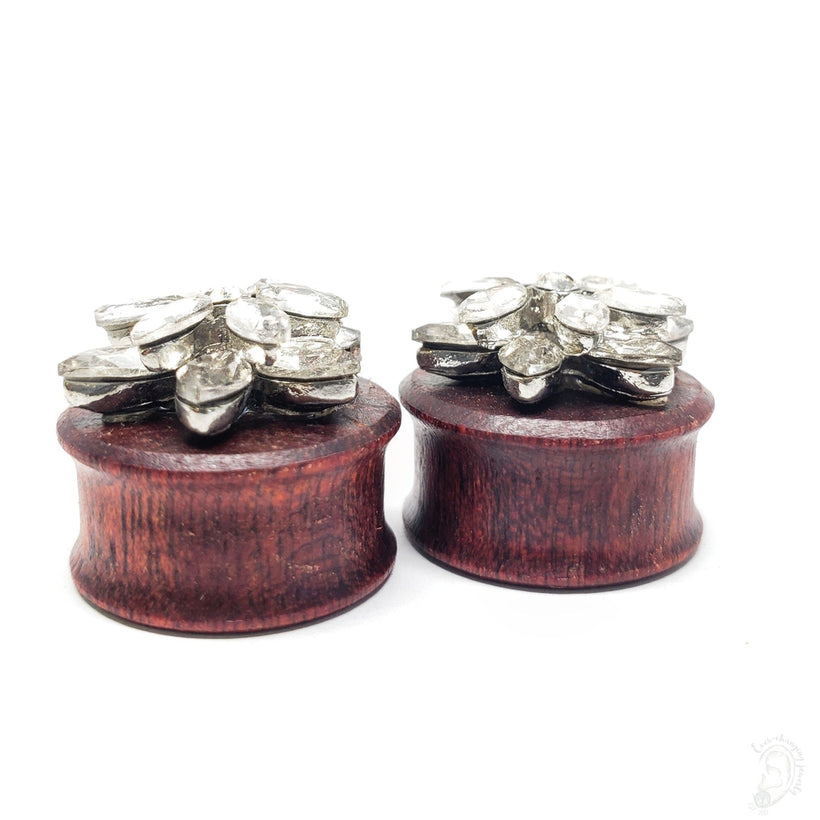 Snowflake Crystal Princess Bloodwood Plugs