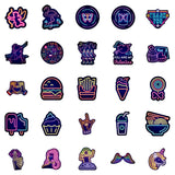 Neon Lights 02 sticker pack - JAQAR