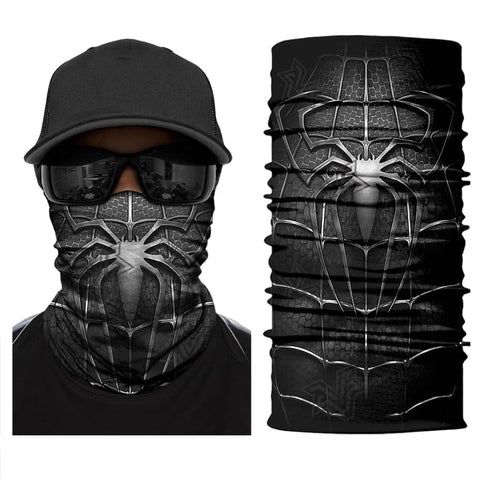 3D Dark Spiderman Tube Bandanna - JAQAR