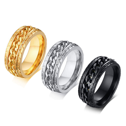 CHAIN TRIBE Ring - JAQAR