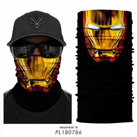 IRON MAN Core Tube Bandanna - JAQAR