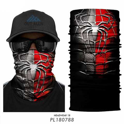 DUO 3D Spiderman Tube Bandanna - JAQAR