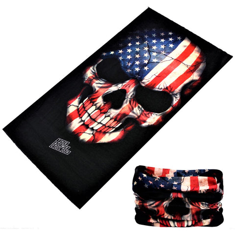 Patriot Skull Tube Bandanna - JAQAR