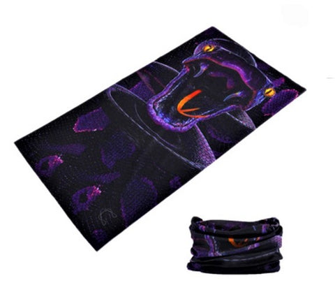 Purple Cobra Tube Bandanna - JAQAR