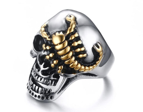 SCORPION SKULL Ring - JAQAR