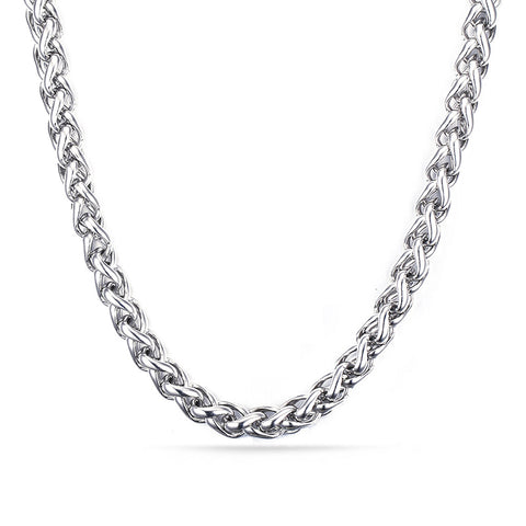 Stainless Rope Chain - Polished - JAQAR