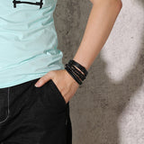 SWAG COMBO Leather Bracelets - JAQAR