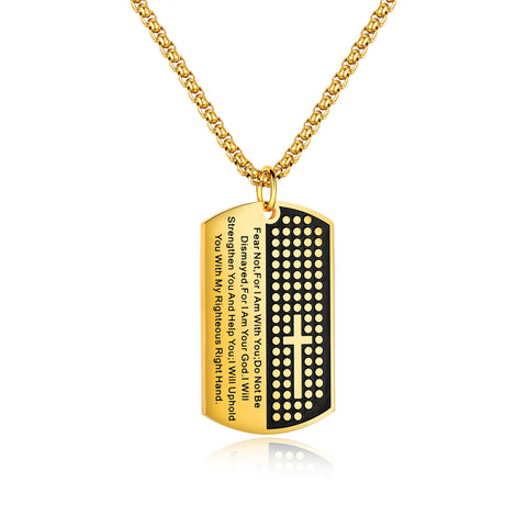 HOLY TAG Necklace - JAQAR