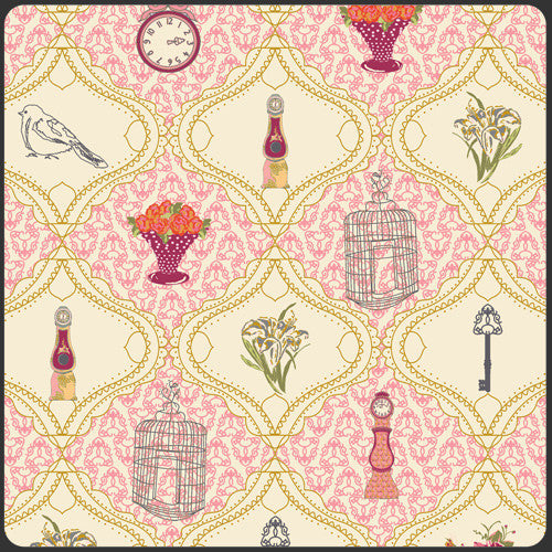 Bari J  - Lilly Belle - French Sampler in Rose (B1)