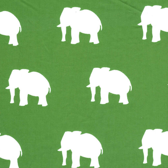 Elephant on Green -