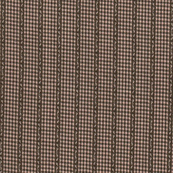 Brown Mini Plaid -