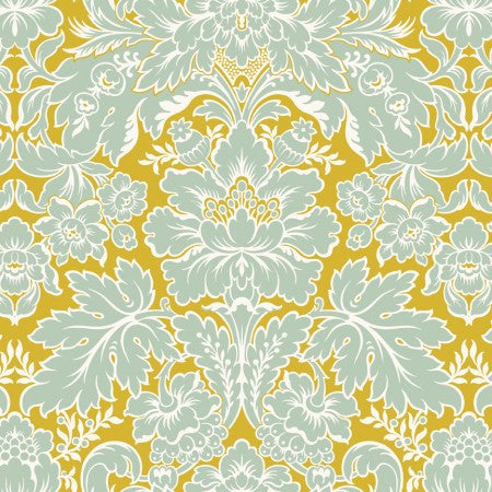 Acanthus Blue - 3 yard minimum (G2)