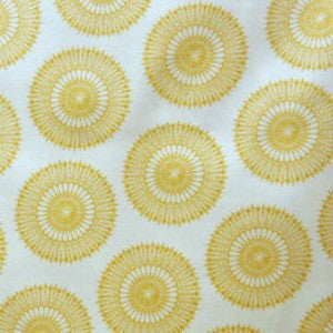 Yellow sunburst - 3 yard minimum (B)