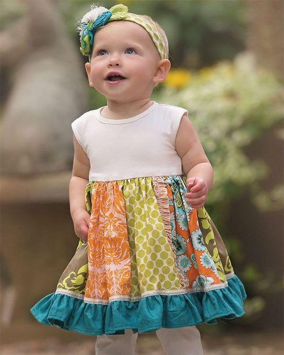 Penelope Dress - Spring 15 Sample- 6-12M