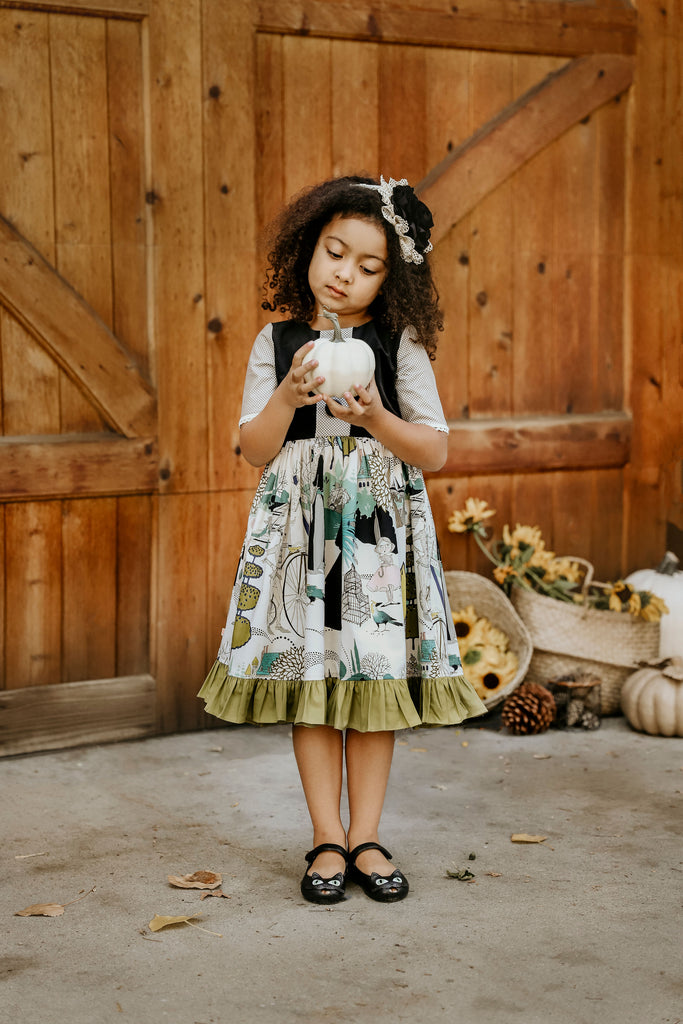 Greta Dress - Halloween Ghastlies