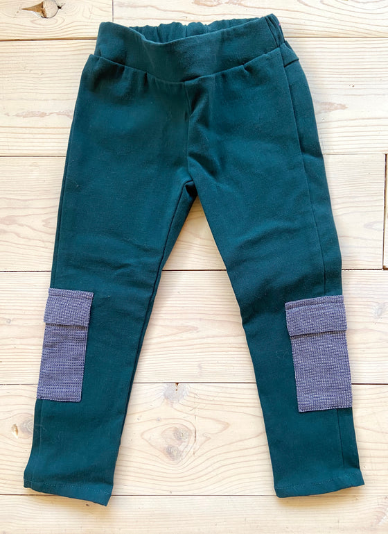 Shyanne Pant - Teal - Sample Size 3