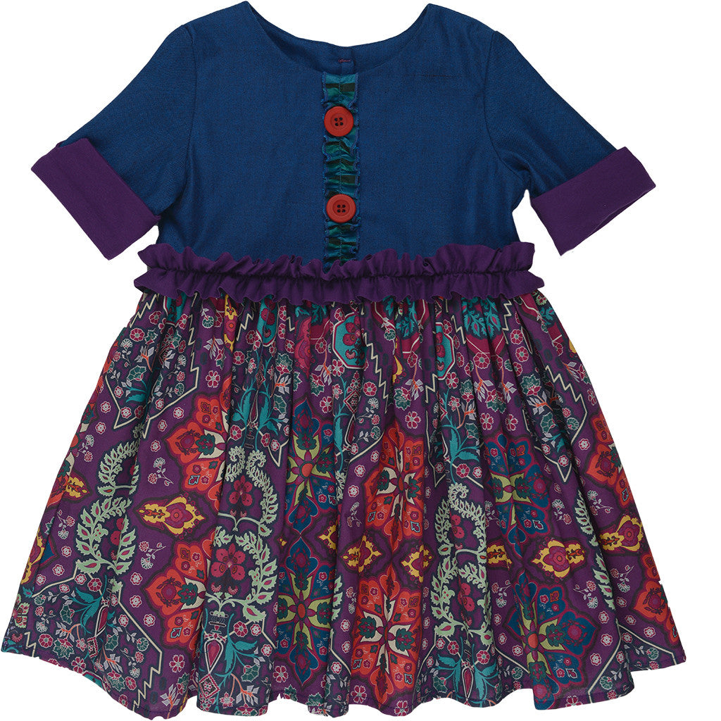 Maggie Dress - Purple