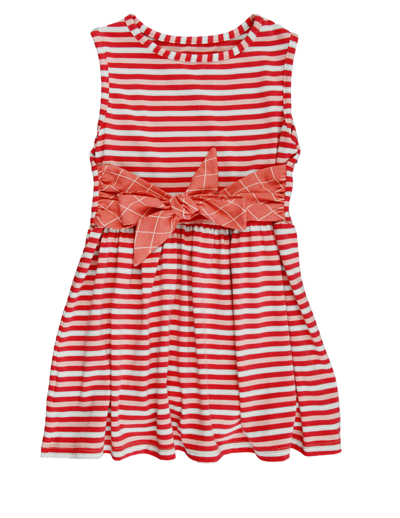 LIZZETTE DRESS-Stripe - Spring 17 Sample -size 3