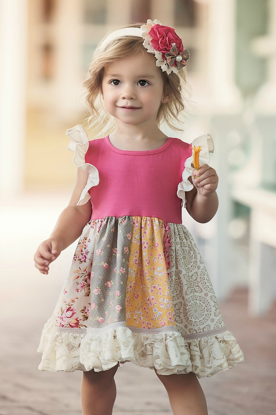 PENELOPE ANN DRESS-Pink