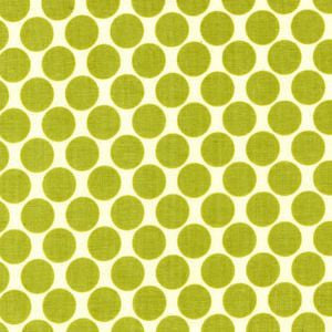 Full Moon Polka Dot in Lime -