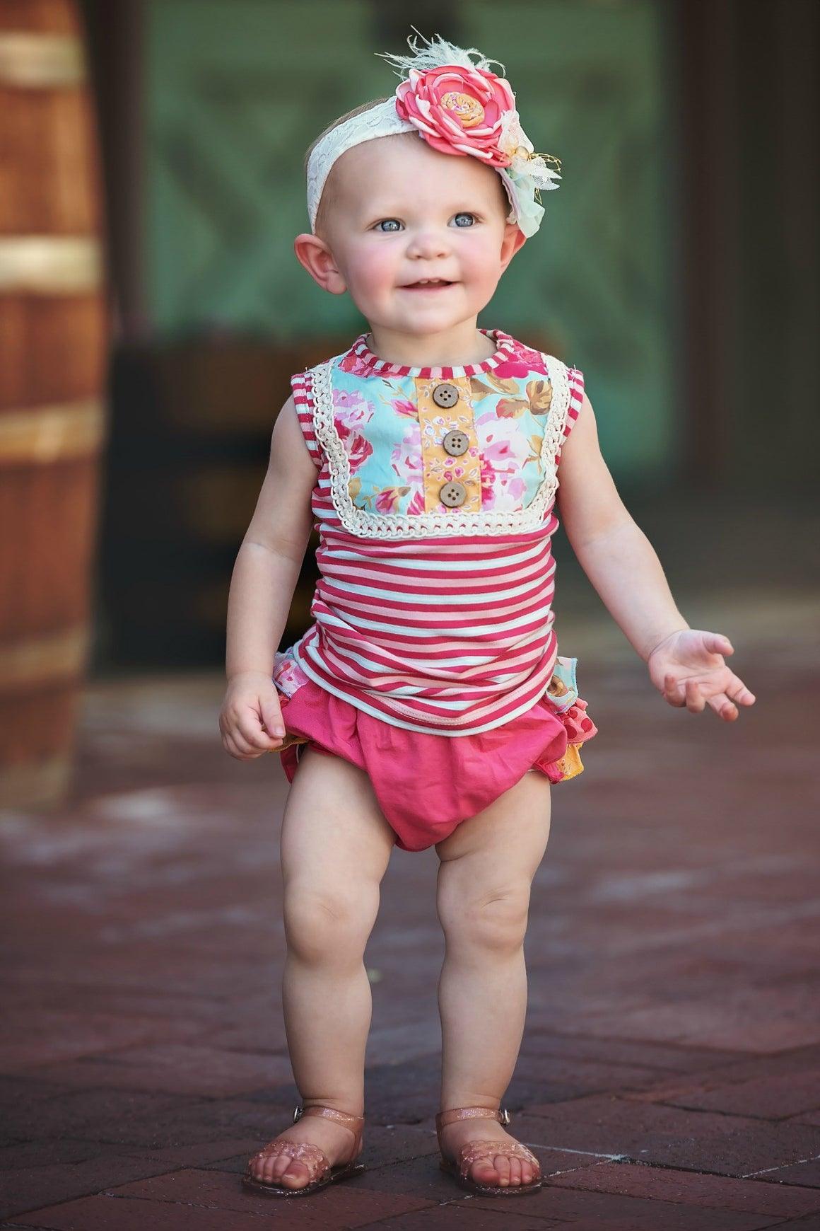 GIGI DIAPER COVER-Pink PRE-SALE (WILL SHIP ON FEBRUARY 27TH)