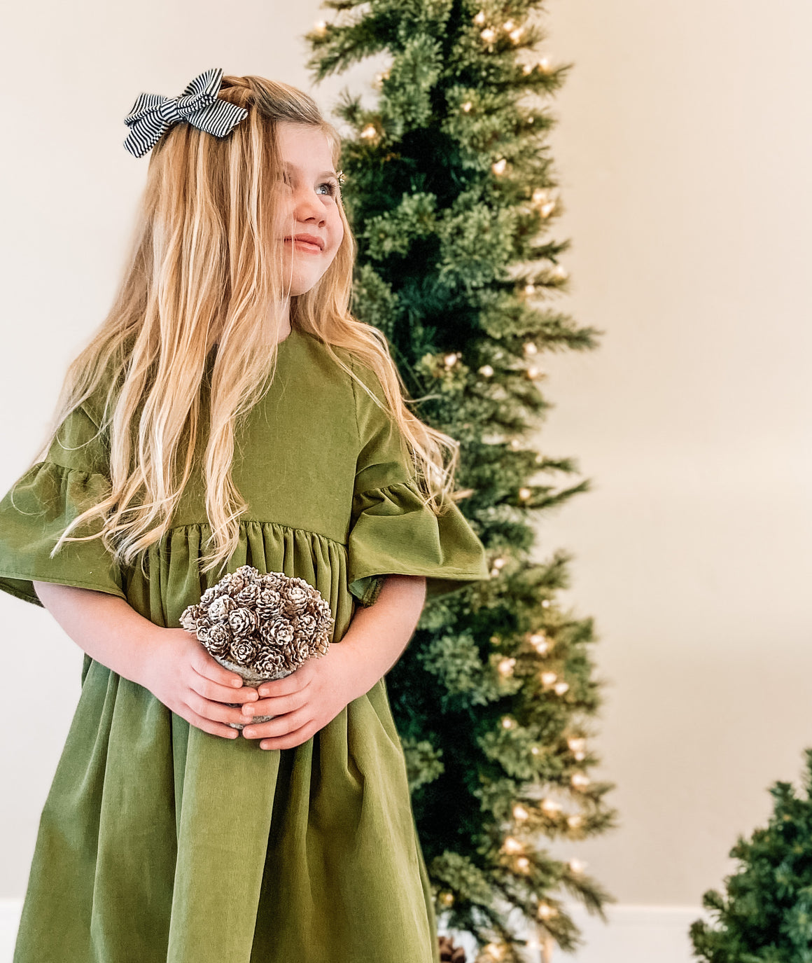 Oaklyn Dress Pine Tree