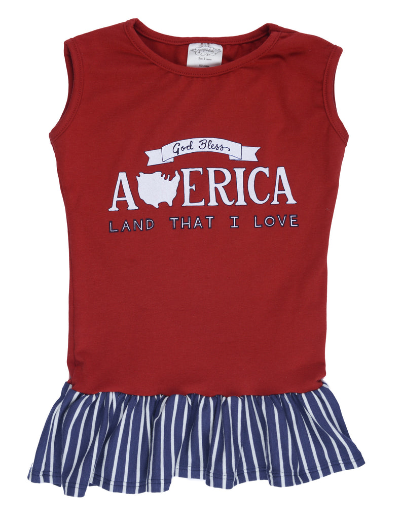 ELSIE TANK TOP - Patriotic 3-6M