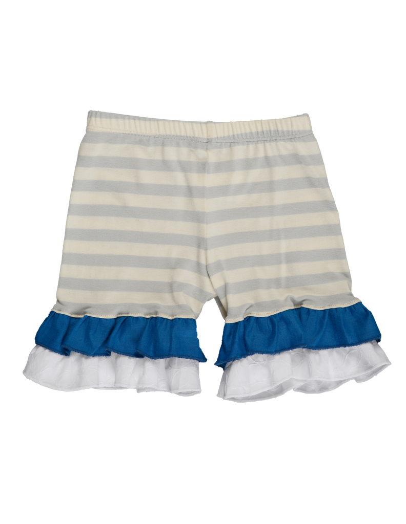 MARLEY SHORT - Gray Stripe
