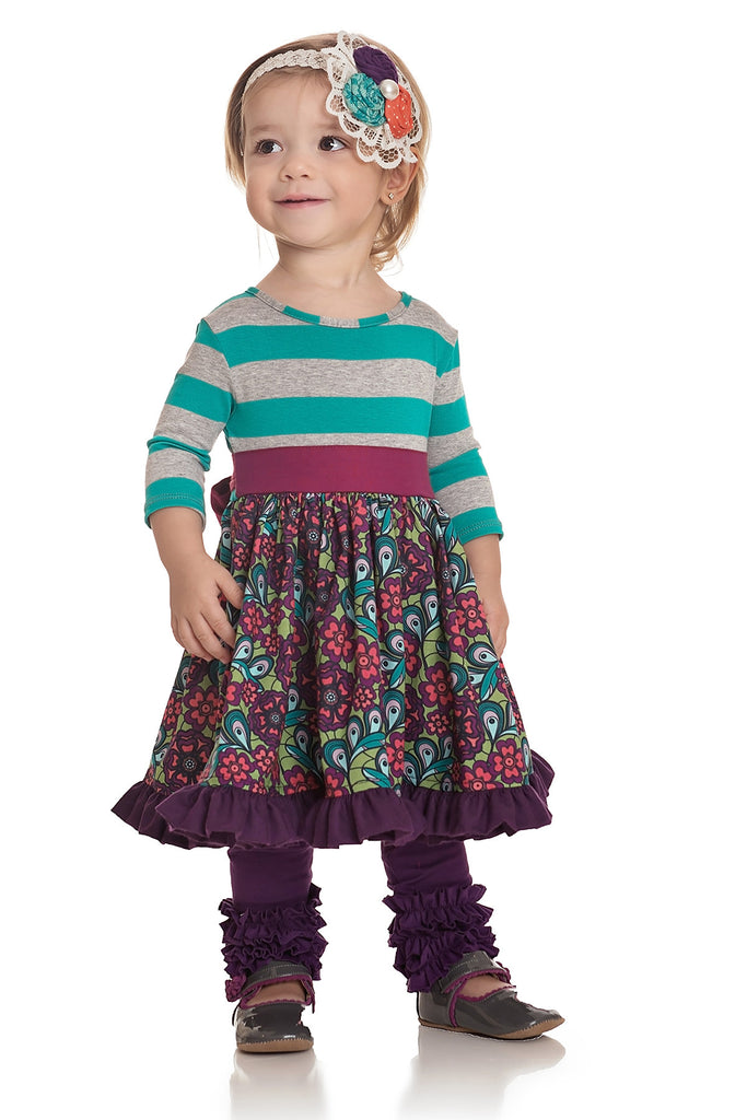 Gracie Legging - Purple Fall 16 Sample -Size 12-18M