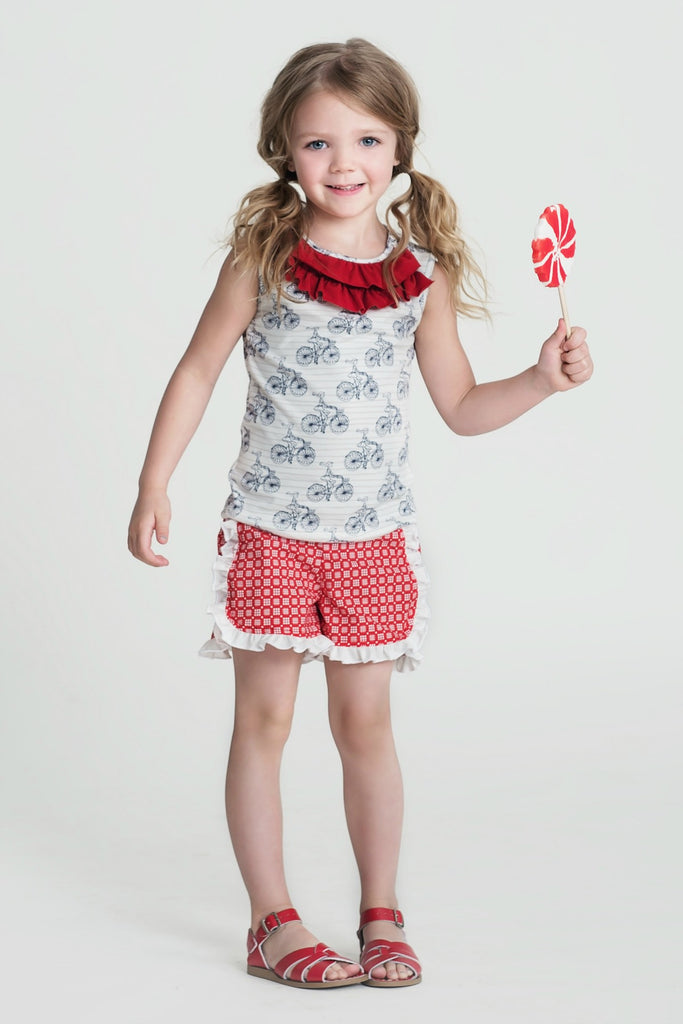 TILLIE SHORT - (3-6M)
