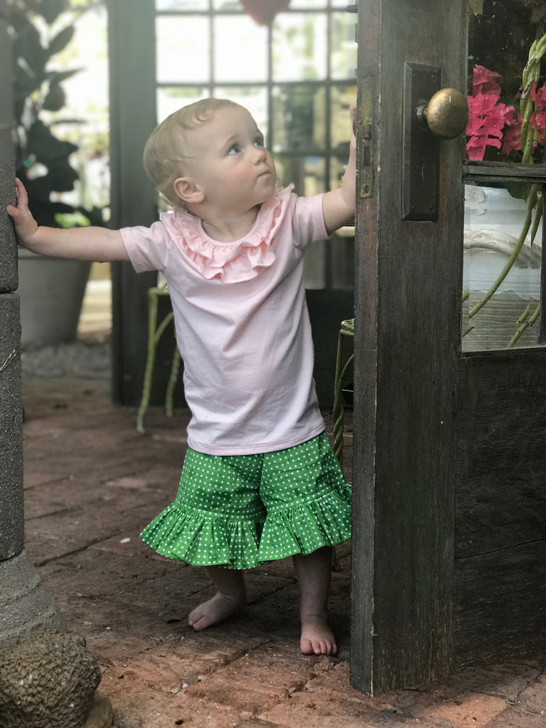 Mae Short - Green Dot - 12M
