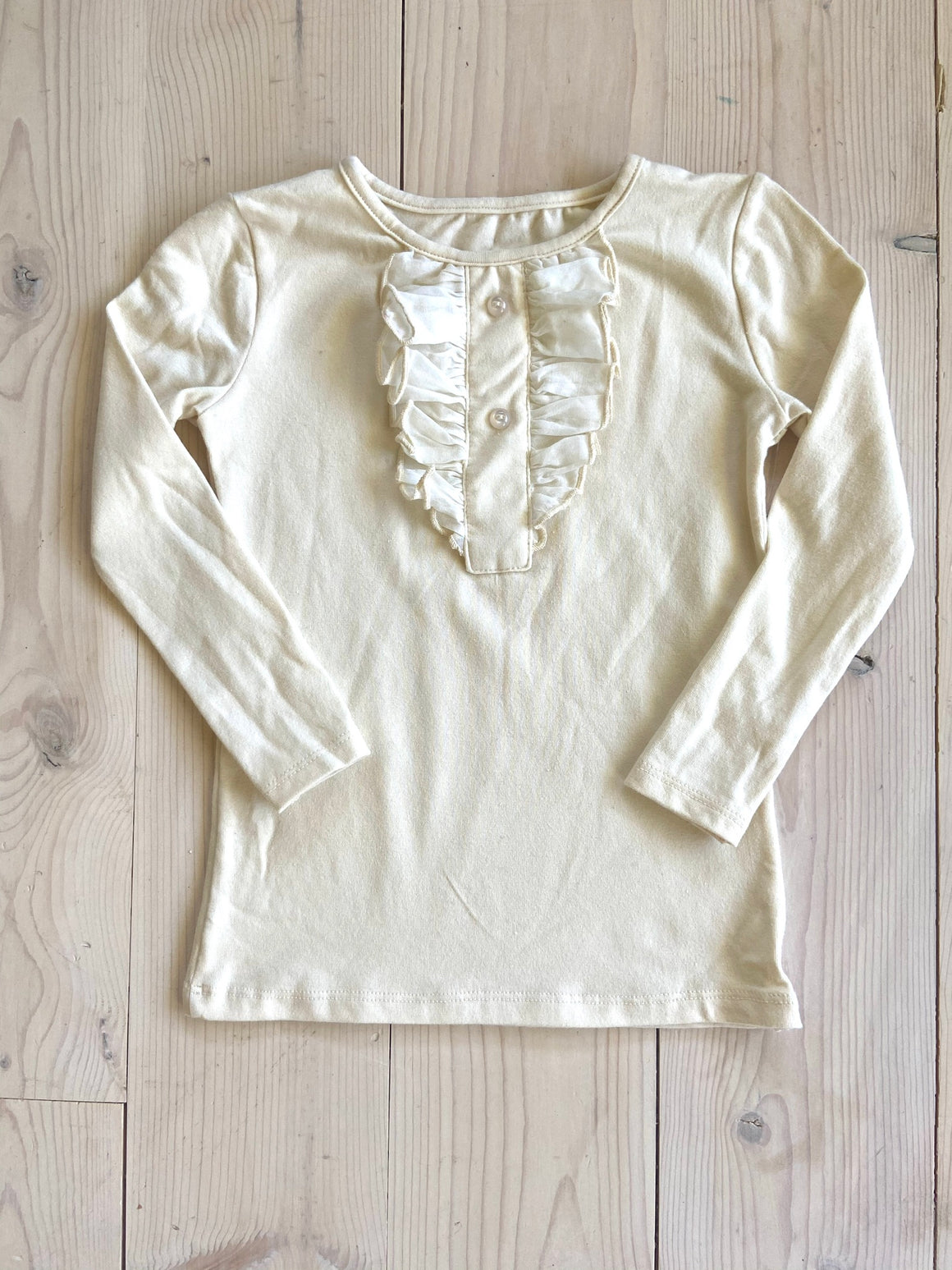 CHARLIE TOP (CREAM)