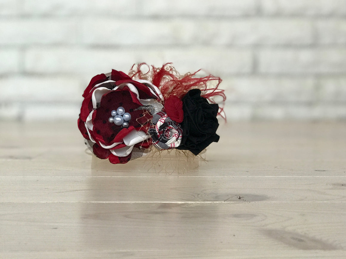 Camilla Headband - Red