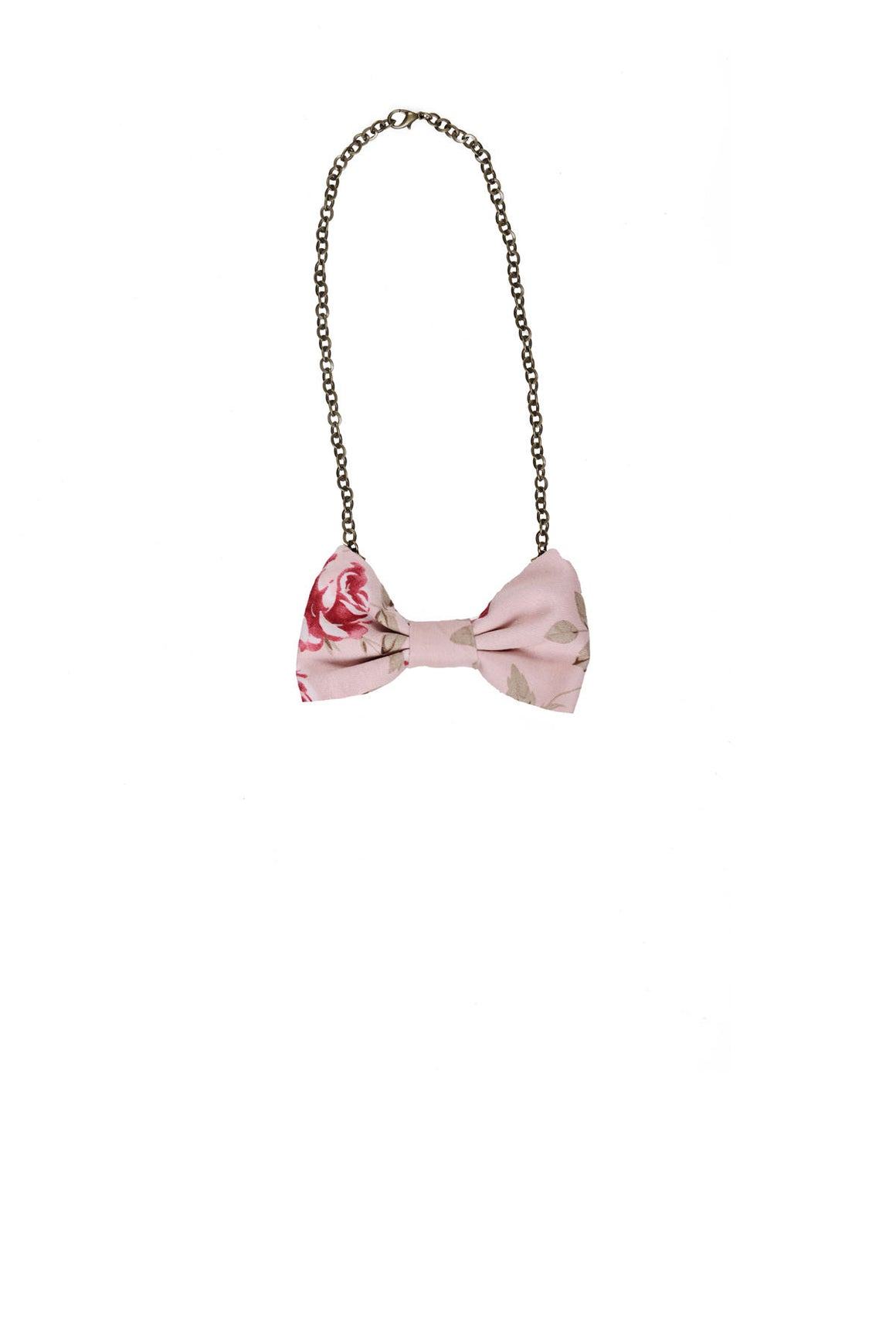 Bowtie Necklace PINK