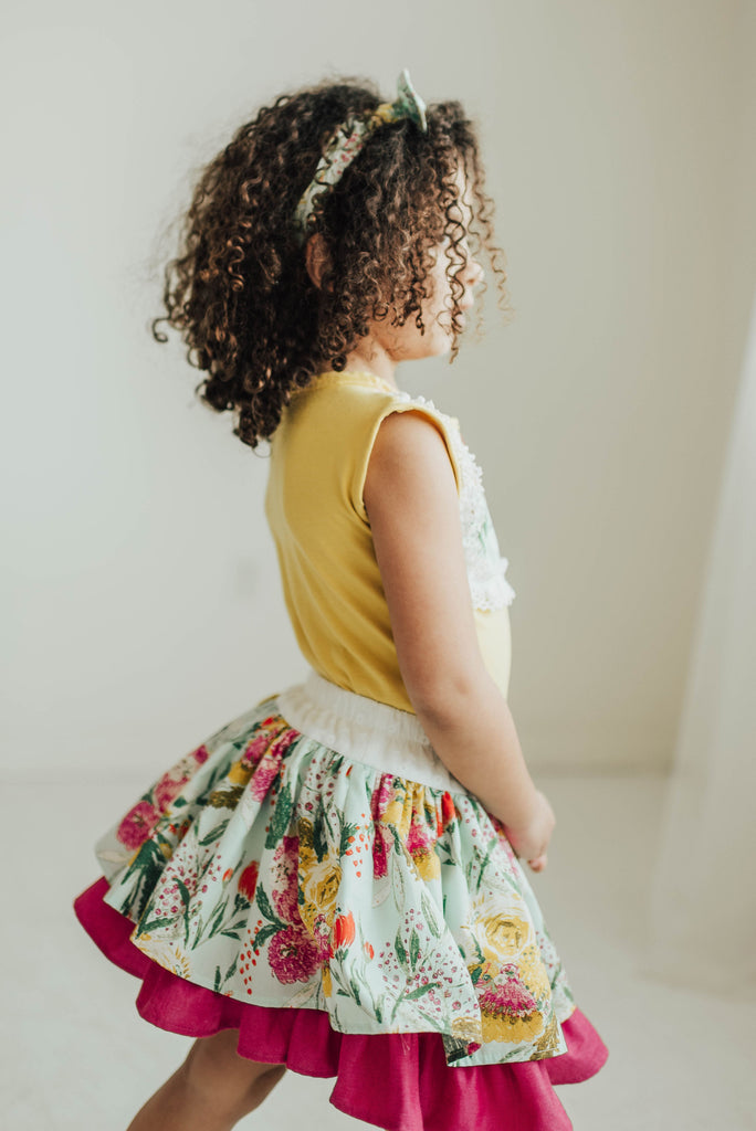 Lily Skirt - Floral