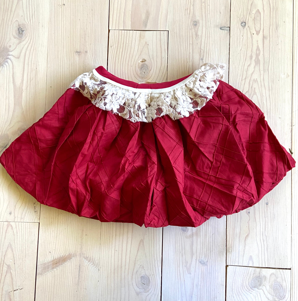 Bubble Skirt Red