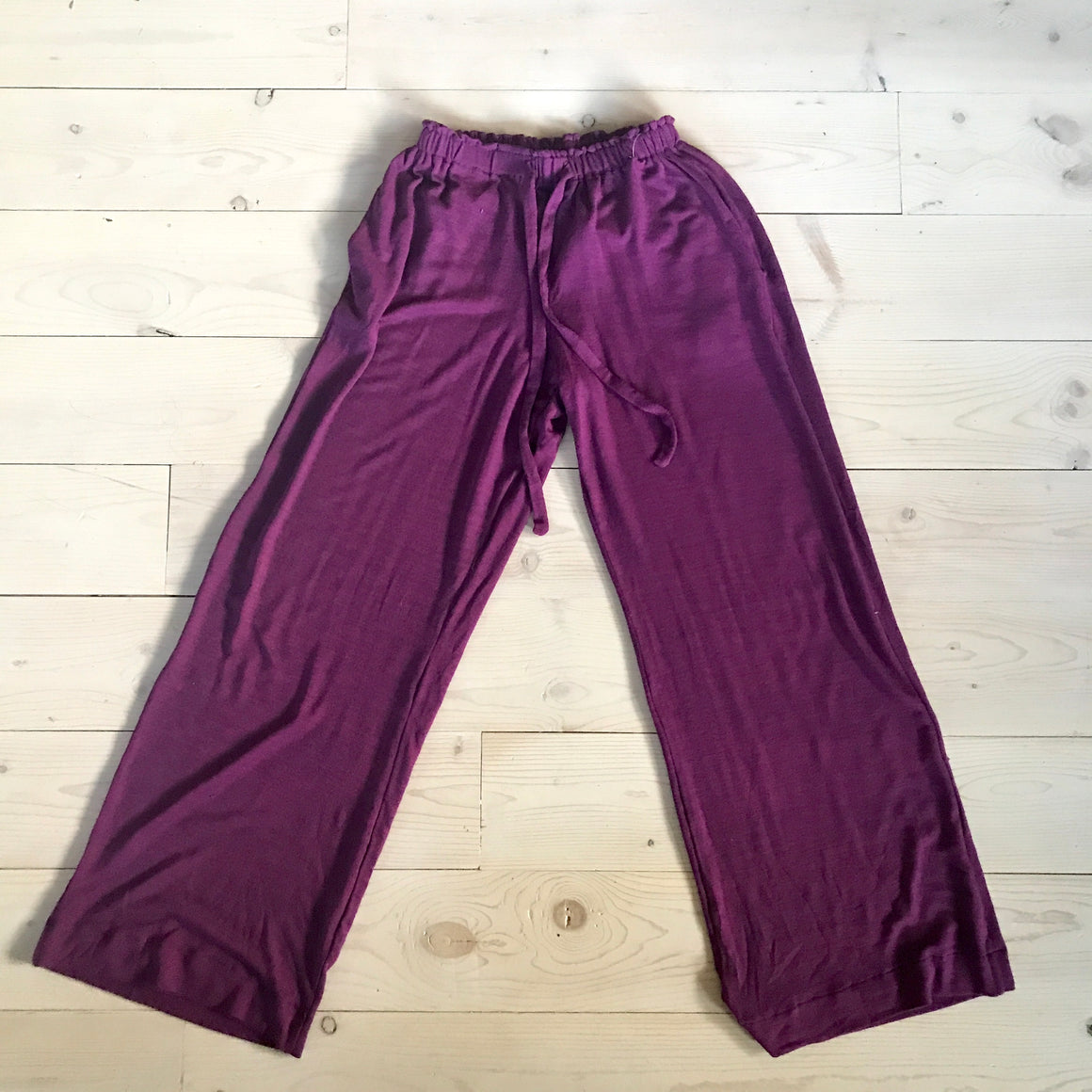 Attley Beach Pant - Purple - Spring 16 Sample - size 12