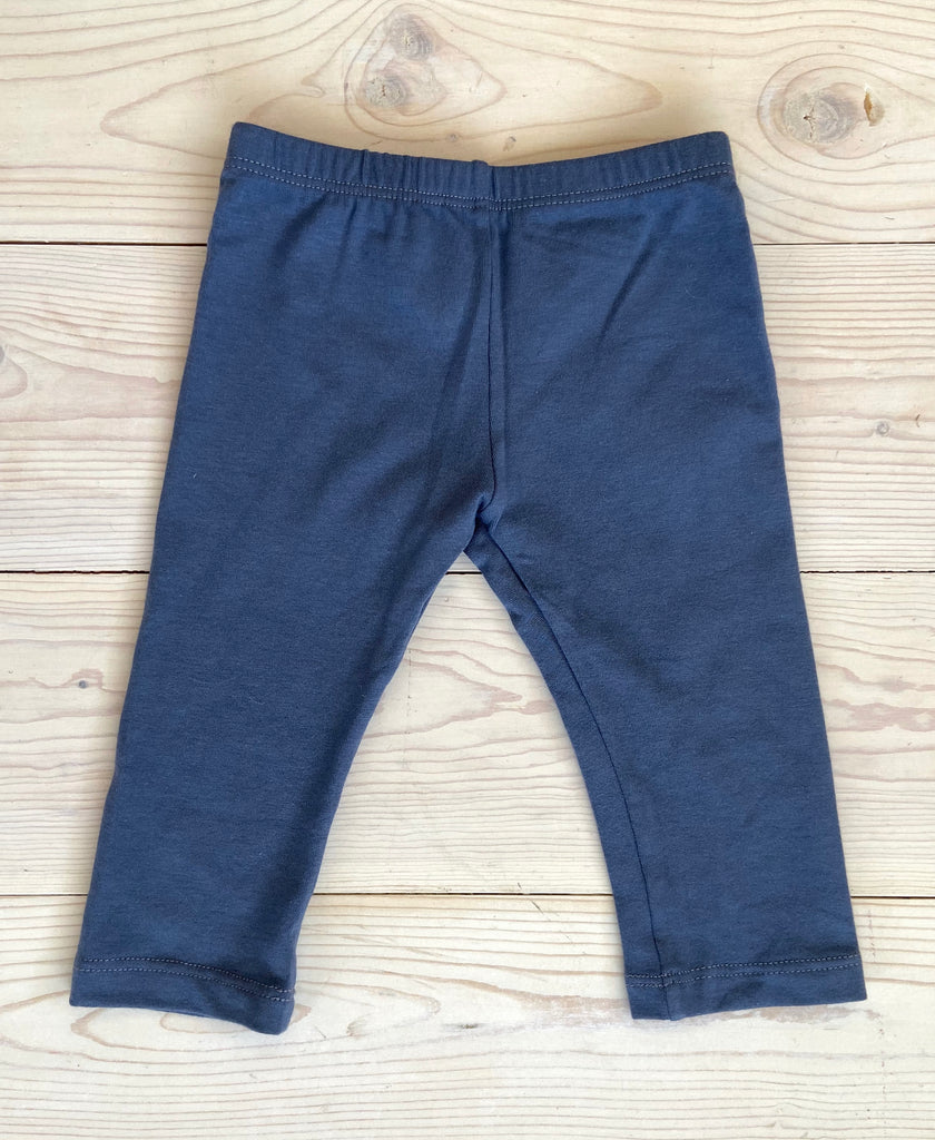 Basic Legging - Blue Grey - 12M