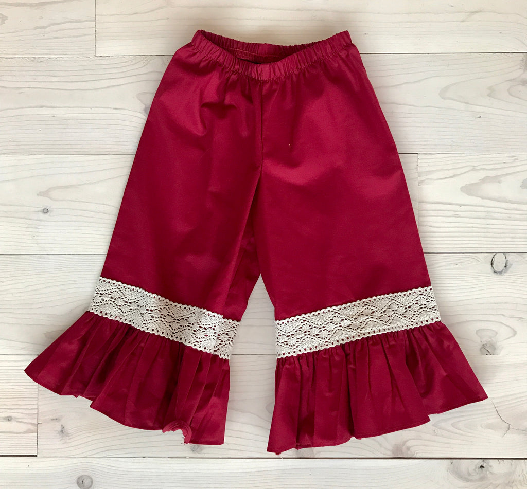 Bell Pant - Red