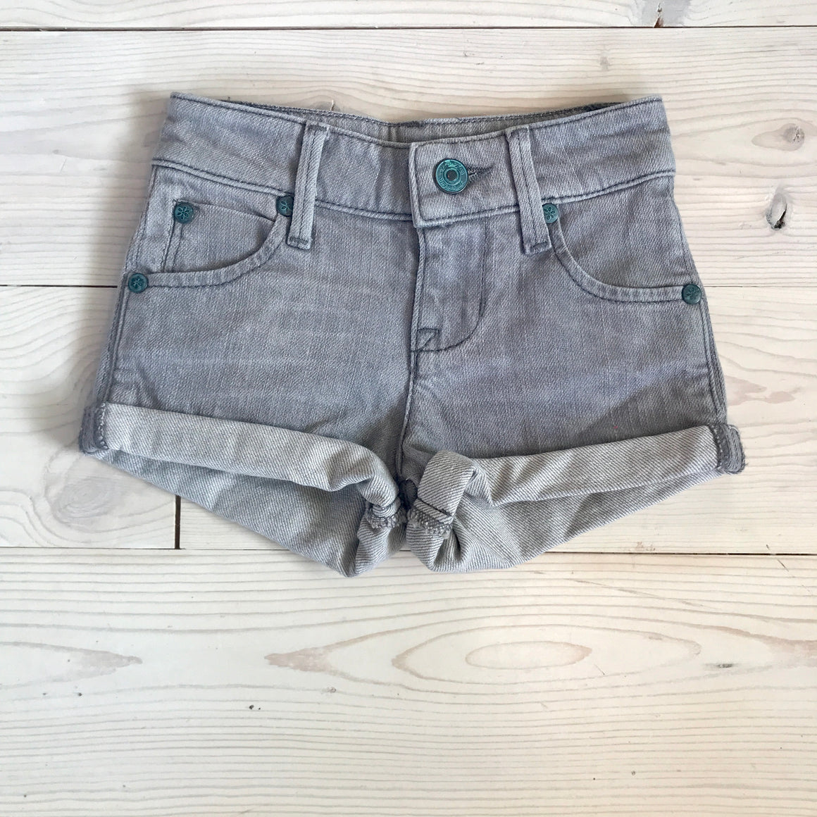 Edie Short - Gray Denim - Spring 16 Sample - Size 3