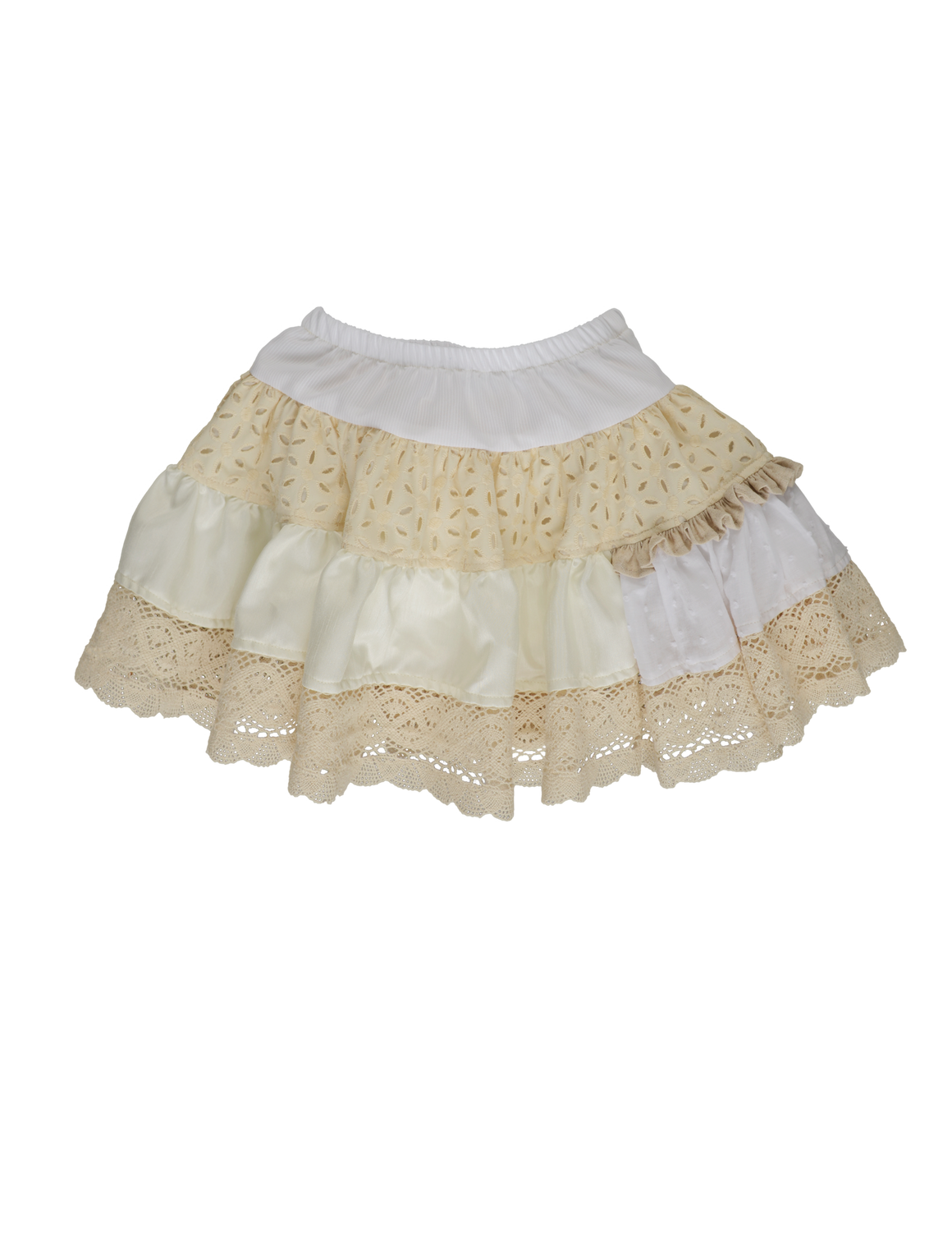 MIMI SKIRT-Cream PRE-SALE (WILL SHIP ON FEBRUARY 20TH)