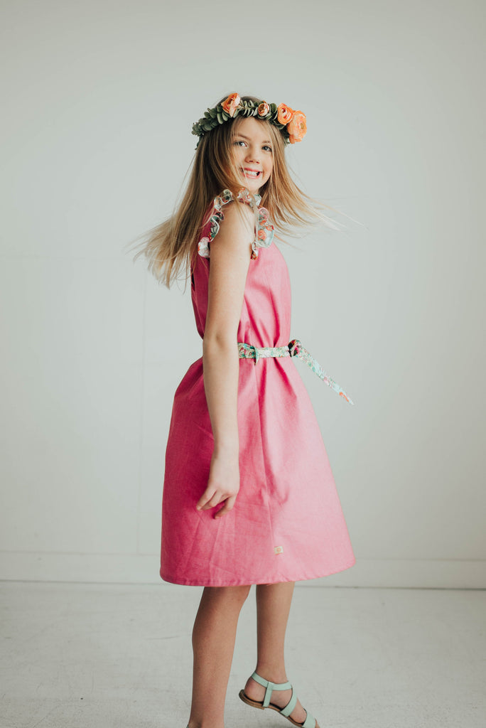 Ella Dress - Pink - size 4