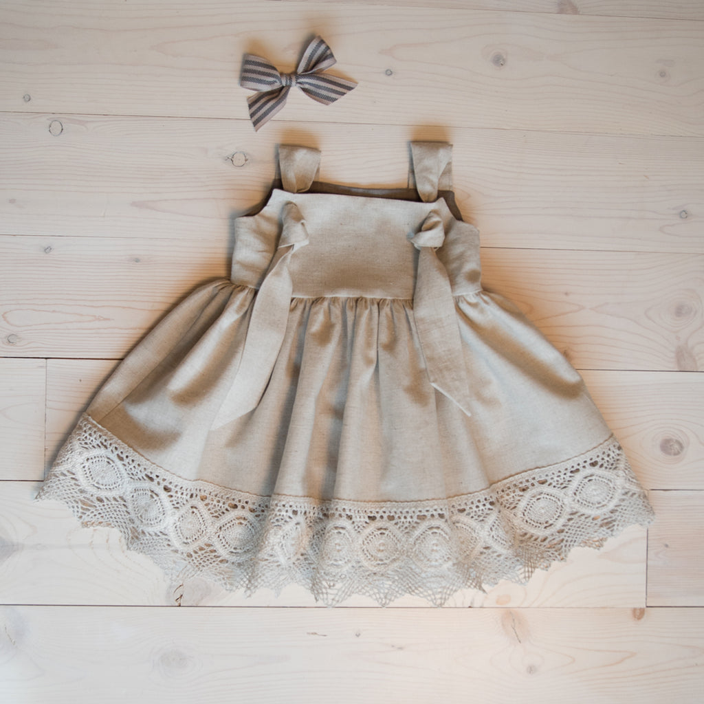 Autumn Dress Linen